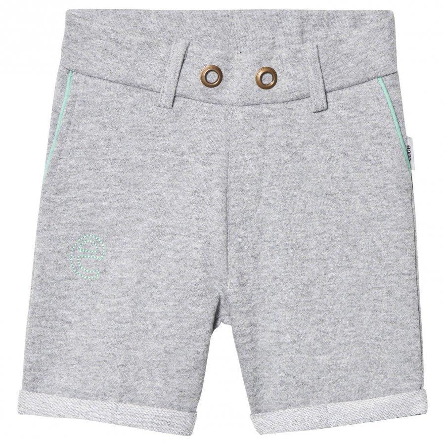 Ebbe Kids Saros Sweat Chinos Shorts Grey Melange Oloasun Shortsit