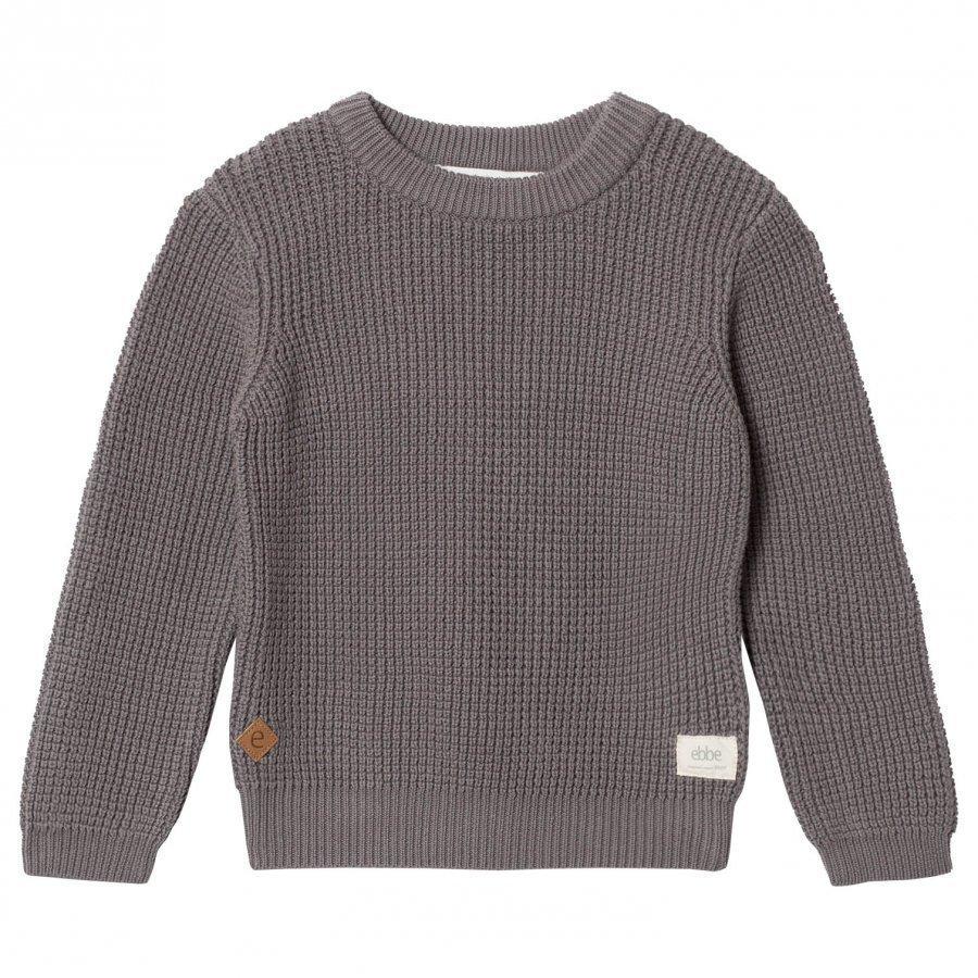 Ebbe Kids Sempre Knitted Sweater Grey Waffle Oloasun Paita