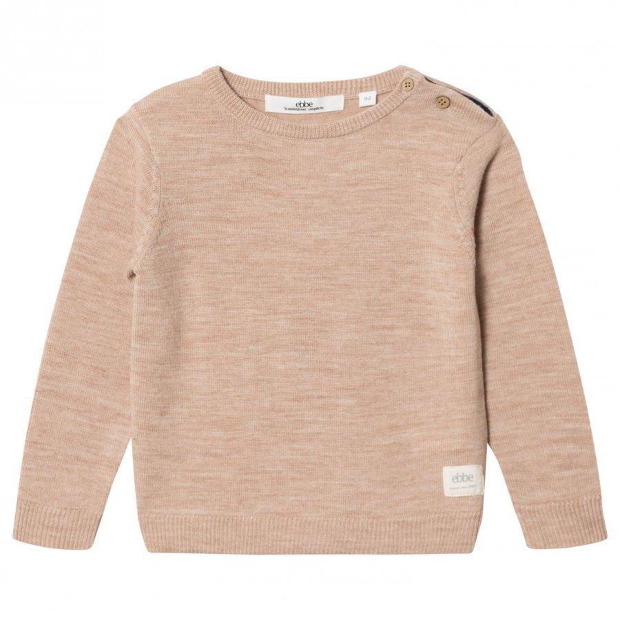 Ebbe Kids Sune Knitted Sweater Warm Sand Oloasun Paita
