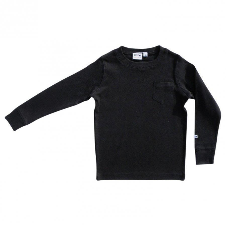 Ebbe Kids T-Shirt Eskil Black Pitkähihainen T-Paita