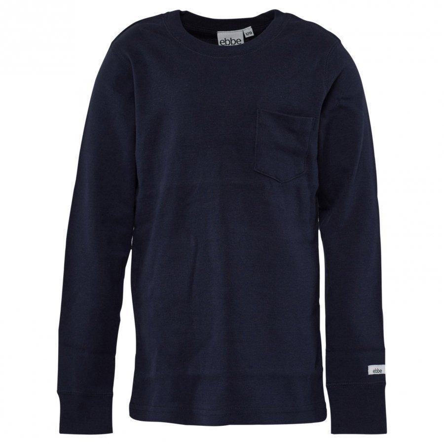 Ebbe Kids T-Shirt Eskil Navy Pitkähihainen T-Paita