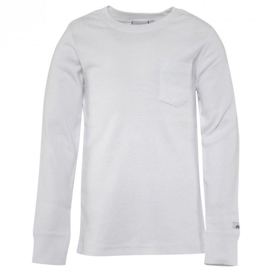 Ebbe Kids T-Shirt Eskil White Pitkähihainen T-Paita