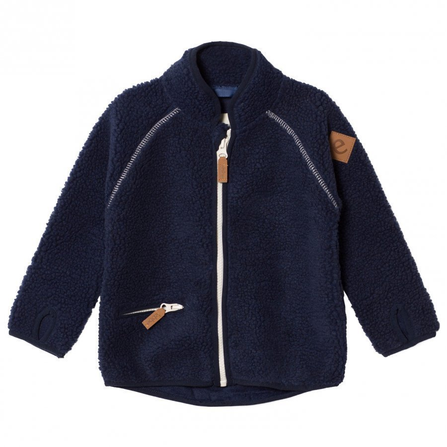 Ebbe Kids Twister Terry Fleece Jacket Winter Navy Fleece Takki