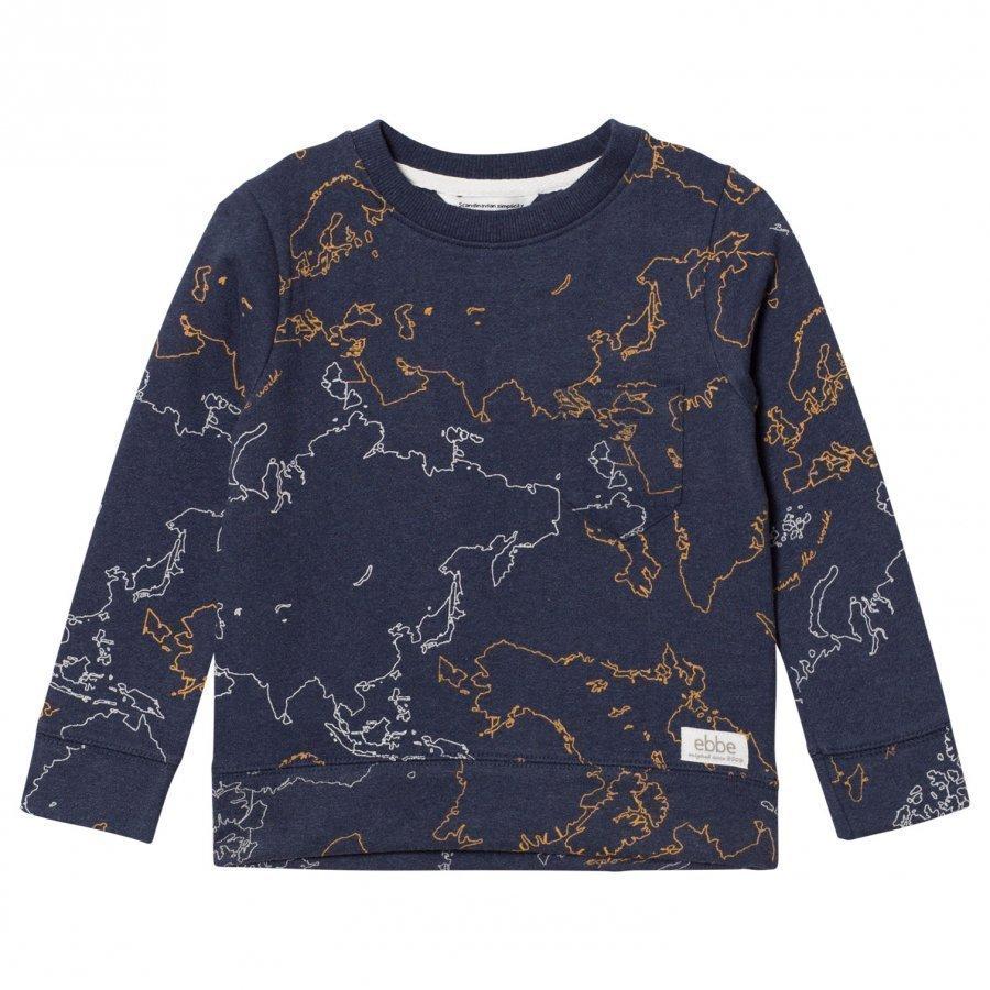 Ebbe Kids Urban Sweatshirt Ebbe Maps Oloasun Paita