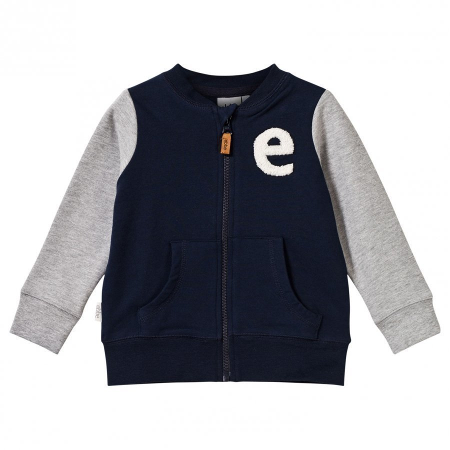 Ebbe Kids Zack Sweat Jacket Winter Navy Oloasun Paita