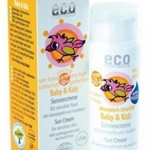 Eco Cosmetics Baby / Kids Aurinkovoide 50 + 50 Ml Luomu