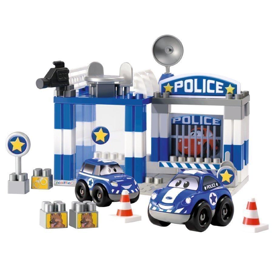 Ecoiffier Abrick Rakennuspalikat Ja Poliisiasema