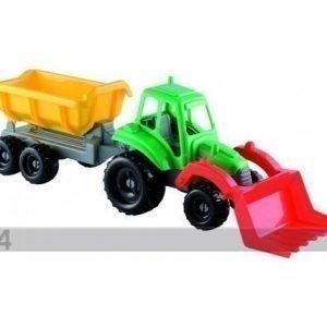 Ecoiffier Pikku Traktori Ja Peräkärry