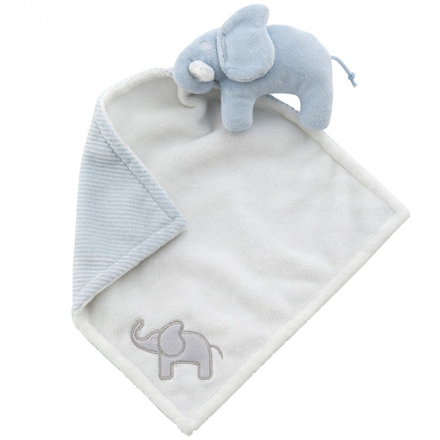 Elephant Cuddle Blanket Elephant Light Blue Uniriepu