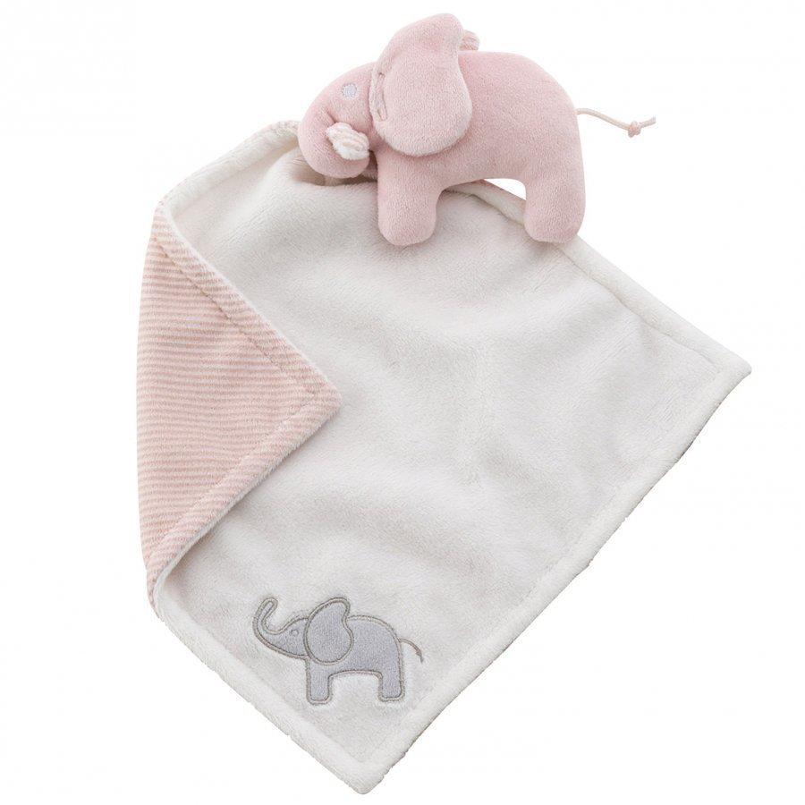Elephant Cuddle Blanket Elephant Pink Uniriepu
