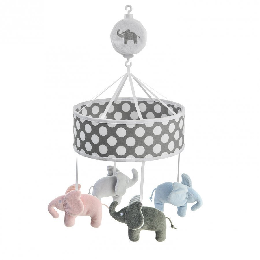 Elephant Musical Mobile Elephant Grey Mobile