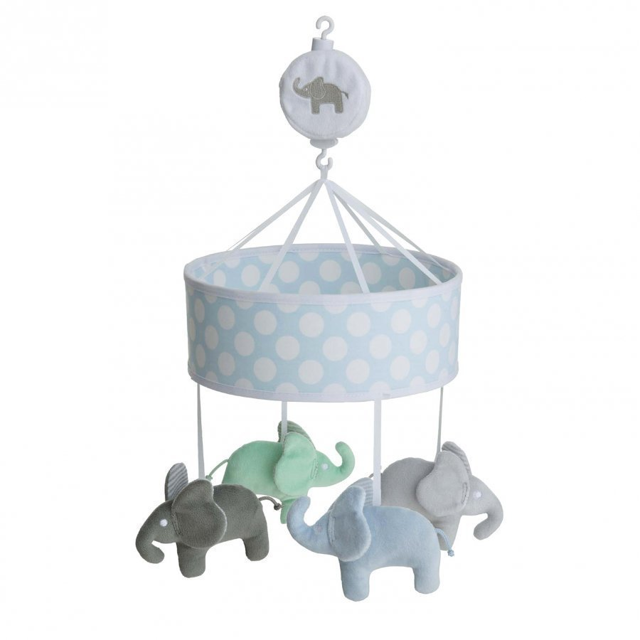 Elephant Musical Mobile Elephant Light Blue Mobile