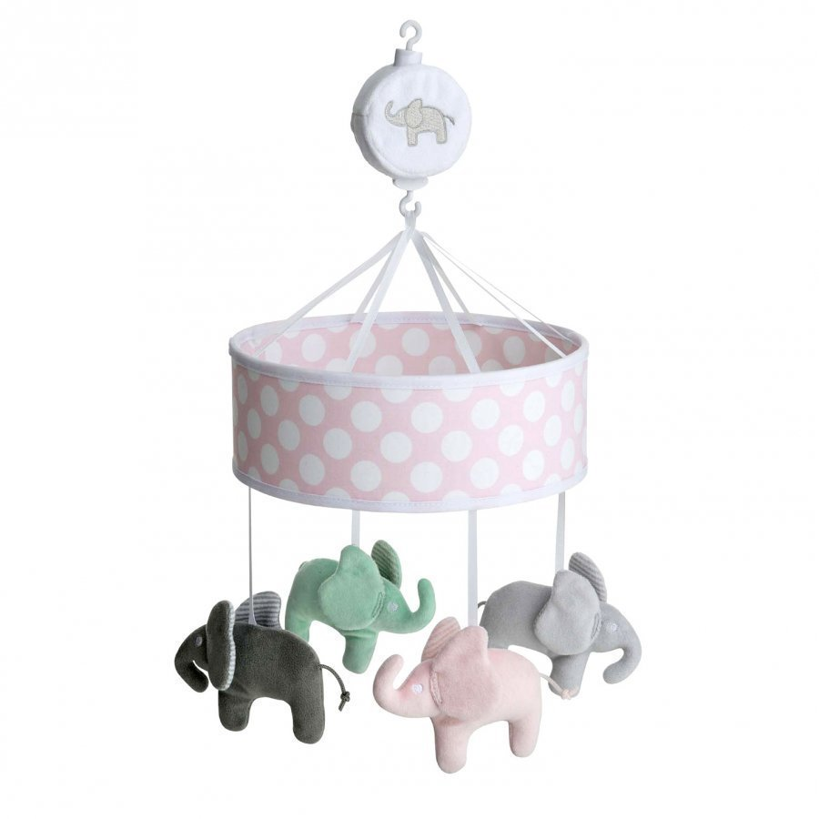 Elephant Musical Mobile Elephant Pink Mobile