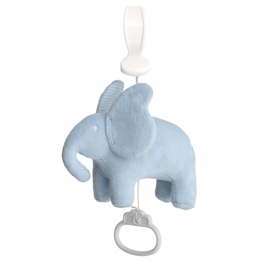 Elephant Pull String Accordion Elephant Blue Mobile