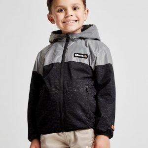 Ellesse Bamble Lightweight Reflective Jacket Musta