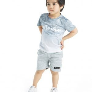 Ellesse Diego Fade T-Shirt & Shorts Set Infant Harmaa