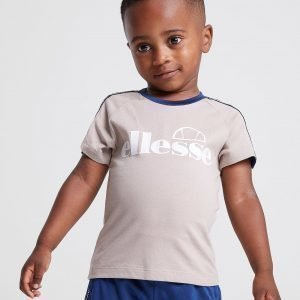 Ellesse Edison Tape T-Shirt Infant Beige
