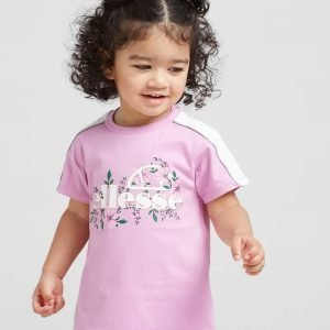 Ellesse Girls' Aster T-Shirt Infant Lilac / White
