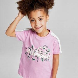 Ellesse Girls' Aster T-Shirt Vaaleanpunainen