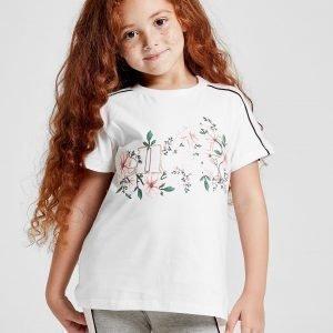 Ellesse Girls' Bluebell T-Shirt Valkoinen