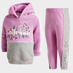 Ellesse Girls' Grandi Hoodie / Leggings Set Infant Violetti