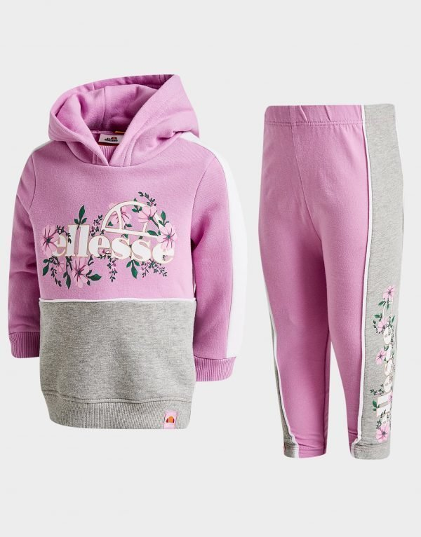 Ellesse Girls' Grandi Hoodie / Leggings Set Infant Violetti