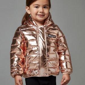 Ellesse Girls' Violet Foil Jacket Infant Kulta
