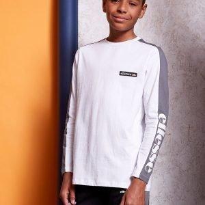 Ellesse Long Sleeve T-Shirt Valkoinen