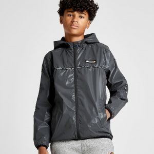 Ellesse Tape Lightweight Reflective Jacket Harmaa