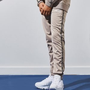 Ellesse Tape Poly Track Pants Beige