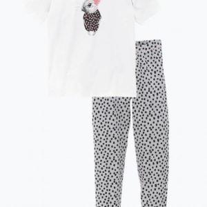 Ellos Pyjama Ekologista Puuvillaa