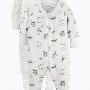 Ellos Pyjamat 2-Pakkaus
