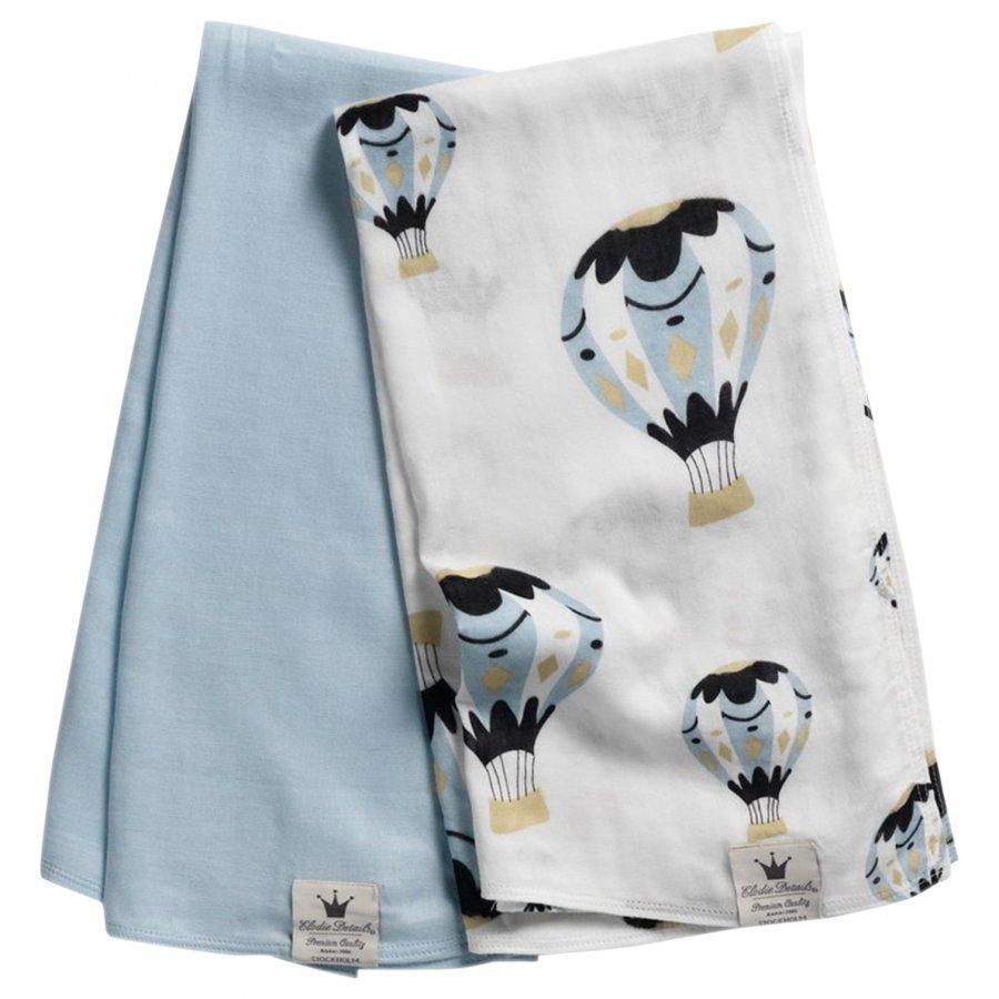 Elodie Details 2-Pack Bamboo Muslin Blanket Huopa