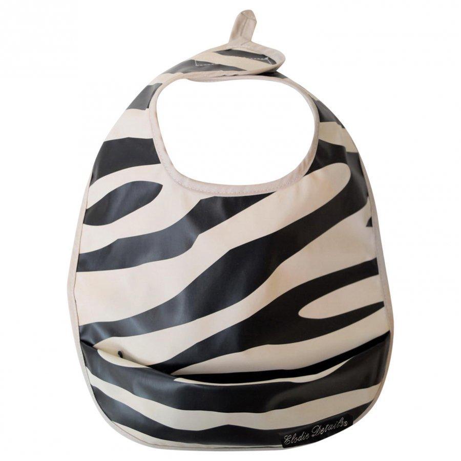 Elodie Details Bib Zebra Sunshine Ruokailusetti