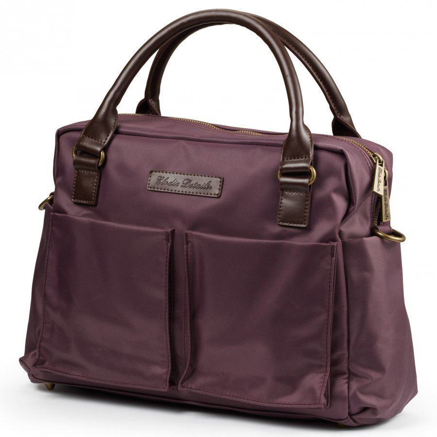 Elodie Details Changing Bag Plum Love Hoitolaukku