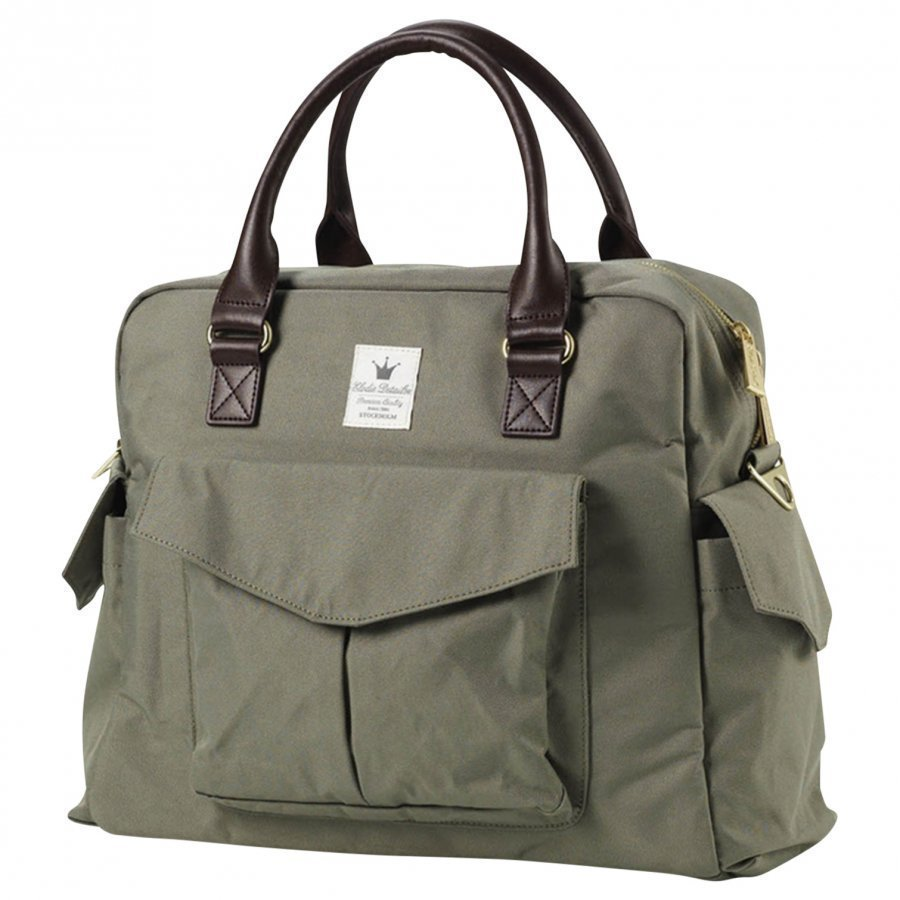 Elodie Details Changing Bag Woodland Green Hoitolaukku