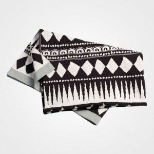 Elodie Details Cot. Knitted Blanket Graphic Huopa
