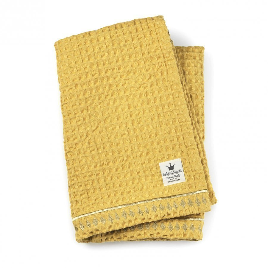 Elodie Details Cotton Waffle Blanket Sweet Honey Huopa