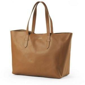Elodie Details Hoitolaukku Chestnut Leather