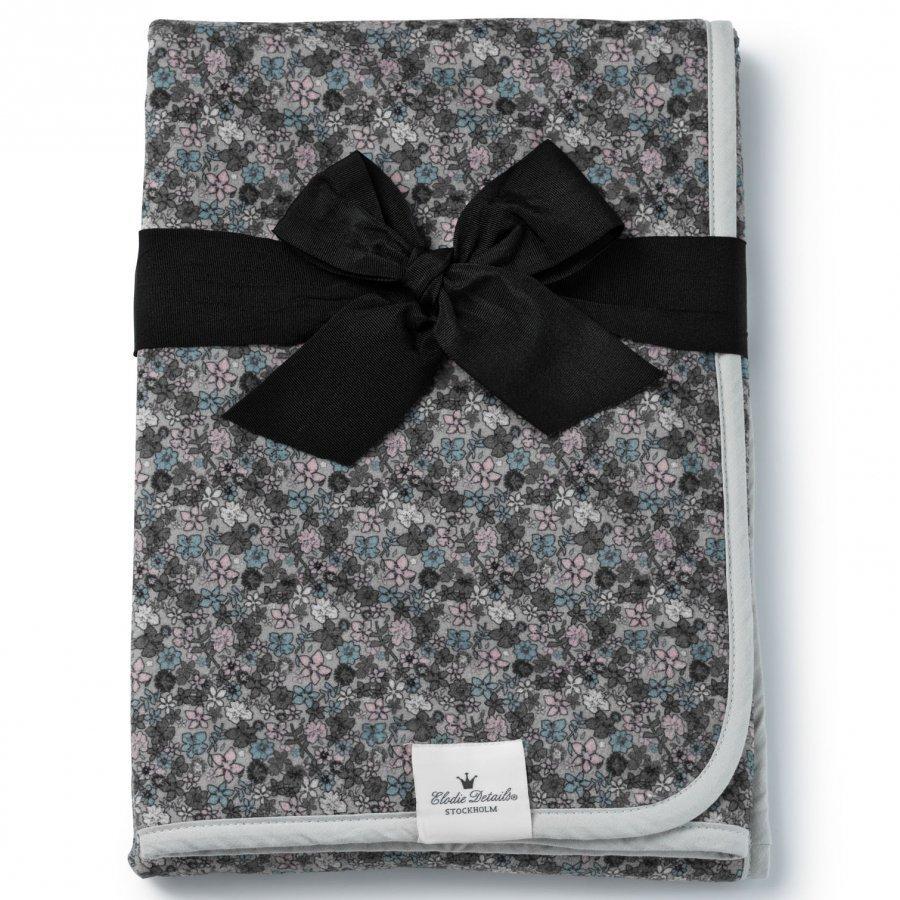 Elodie Details Pearl Velvet Blanket Petite Botanic Huopa