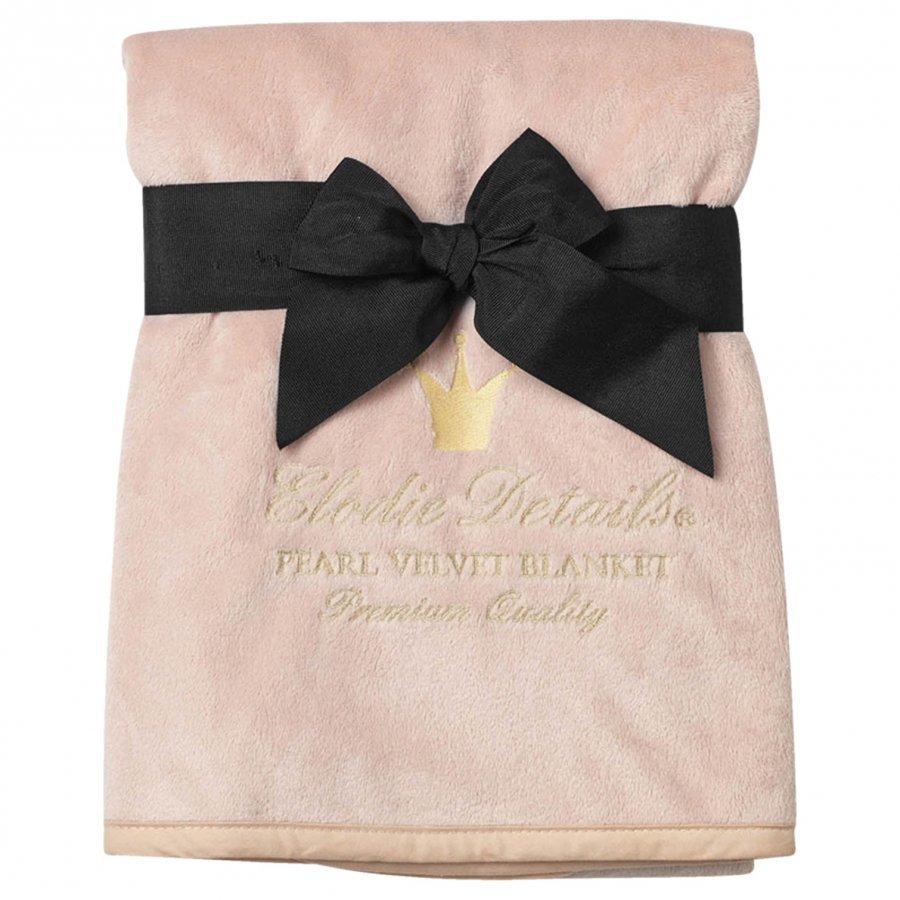 Elodie Details Pearl Velvet Blanket Powder Pink Huopa