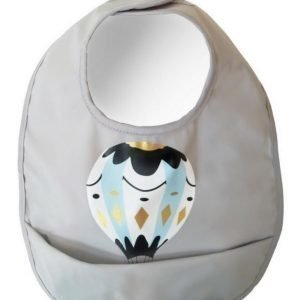 Elodie Details Ruokalappu Moon Baloon Grey