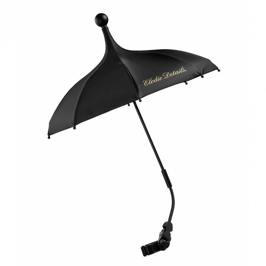 Elodie Details Stroller Parasol Brilliant Black Sadesuoja