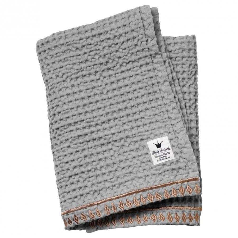 Elodie Details Waffle Blanket Gilded Grey Huopa