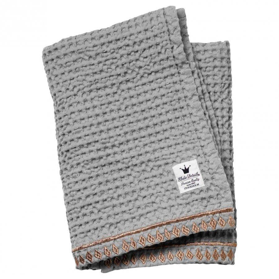 Elodie Details Waffle Blanket Gilded Grey Huopa