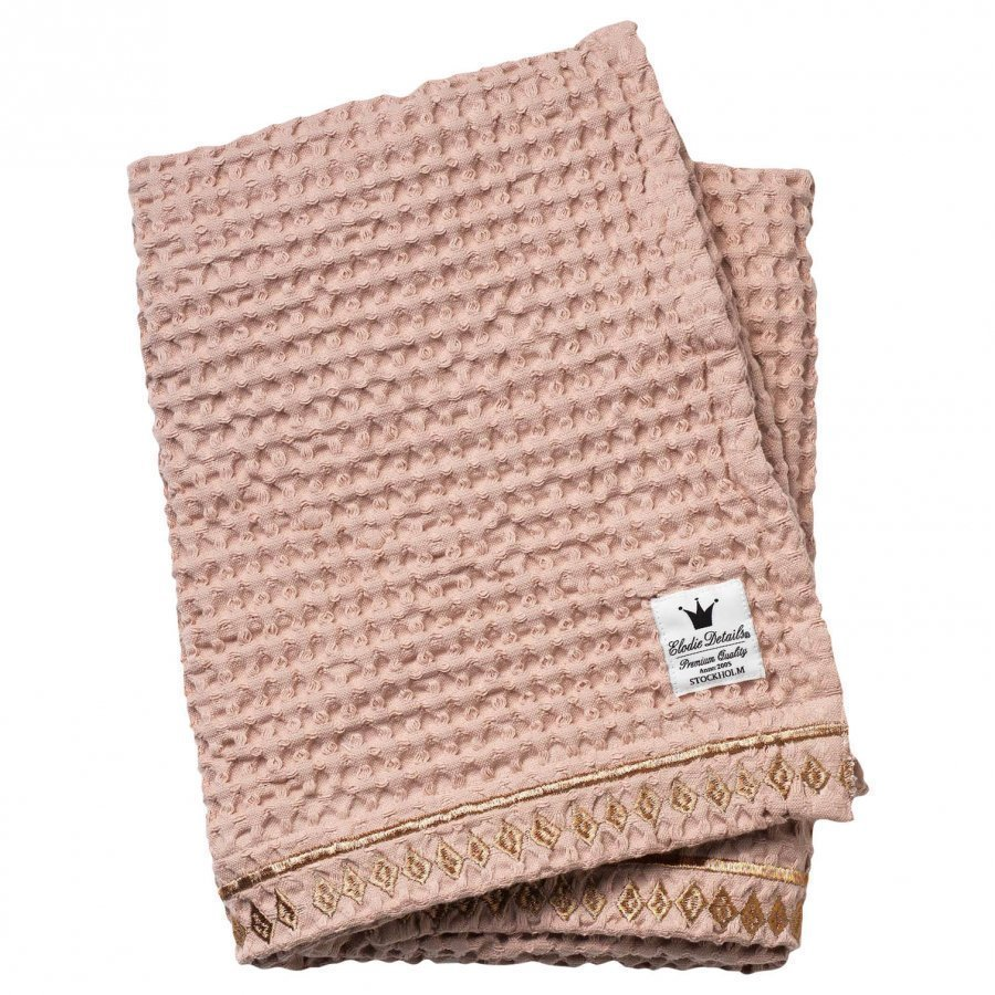 Elodie Details Waffle Blanket Gilded Powder Huopa