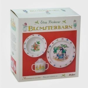 Elsa Beskow Gift Box Blomsterbarn Ruokailusetti