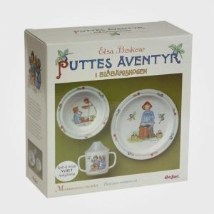 Elsa Beskow Gift Box Putte Ruokailusetti