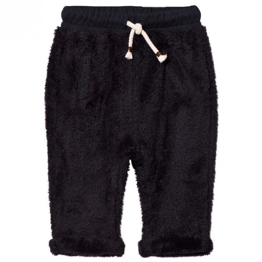 Emile Et Ida Ecru Fuzzy Pants Orage Verryttelyhousut