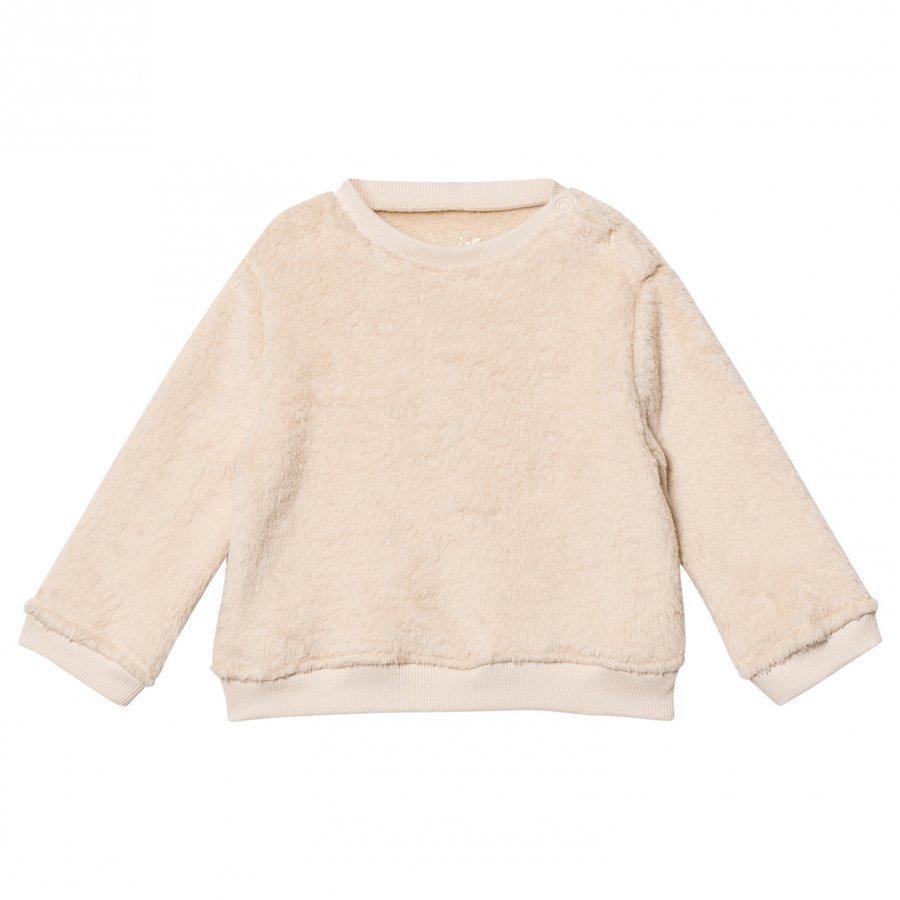 Emile Et Ida Ecru Fuzzy Sweater Oloasun Paita